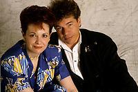 FILE - Fabienne Thibault et Richard Cocciante<br />  circa 1985<br /> <br /> <br /> PHOTO :  Harold Beaulieu<br />  - Agence Quebec Presse