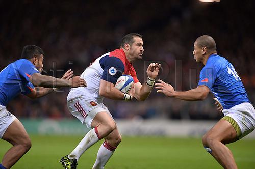 12.11.2016. Stadium Toulouse, Toulouse, France. Autumn International rugby match, France versus Samoa.  Scott Spedding (fra)