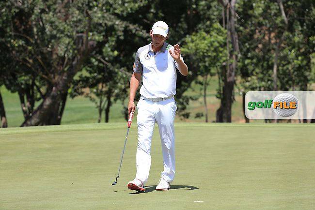 An eagle for /{prsn}/ on the 8th during Round Two of the 2016 BMW SA Open hosted by City of Ekurhuleni, played at the Glendower Golf Club, Gauteng, Johannesburg, South Africa.  08/01/2016. Picture: Golffile | David Lloyd<br /> <br /> All photos usage must carry mandatory copyright credit (&copy; Golffile | David Lloyd)