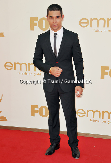 wilmer Valderrama  arriving at the 2011 Emmy Awards at the Nokia Theatre in Los Angeles.