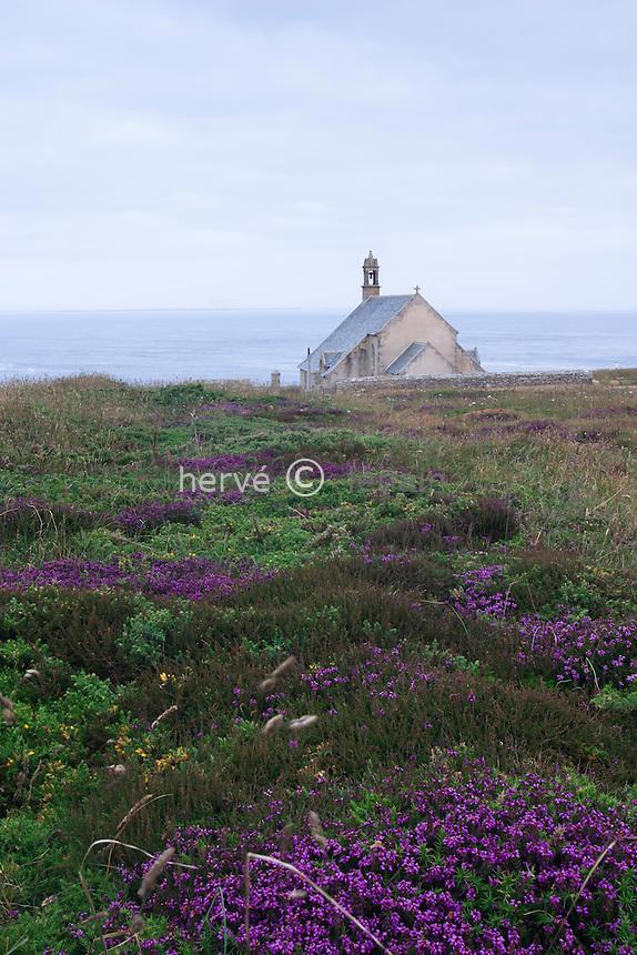 France, Finistère (29), Pointe du Van, la chapelle Saint-They // France, Finistere, Pointe du Van, chapel Saint-They
