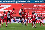 Ludwig Augustinsson (Werder Bremen #05), Edimilson Fernandes (FSV Mainz 05 #20)<br /> <br /> <br /> Sport: nphgm001: Fussball: 1. Bundesliga: Saison 19/20: 33. Spieltag: 1. FSV Mainz 05 vs SV Werder Bremen 20.06.2020<br /> <br /> Foto: gumzmedia/nordphoto/POOL <br /> <br /> DFL regulations prohibit any use of photographs as image sequences and/or quasi-video.<br /> EDITORIAL USE ONLY<br /> National and international News-Agencies OUT.