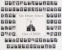2000 Yale Divinity School Senior Portrait Class Group Photograph