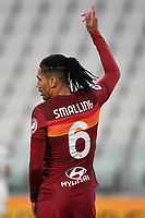 Chris Smalling of AS Roma during the Serie A football match between Juventus FC and AS Roma at Juventus stadium in Turin (Italy), August 1st, 2020. Play resumes behind closed doors following the outbreak of the coronavirus disease. Photo Andrea Staccioli / Insidefoto