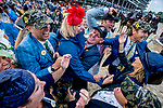 May 4, 2019 : Connections of Country House celebrate after their horse was awarded the win via disqualification in the Kentucky Derby on Kentucky Derby Day at Churchill Downs on May 4, 2019 in Louisville, Kentucky. Scott Serio/Eclipse Sportswire/CSM