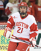 Sean Escobedo (BU - 21) - The Boston University Terriers defeated the visiting Providence College Friars 2-1 on Saturday, October 23, 2010, at Agganis Arena in Boston, Massachusetts.