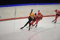 SCHAATSEN: HEERENVEEN: 31-01-2014,  IJsstadion Thialf, Training Topsport, Margot Boer, ©foto Martin de Jong