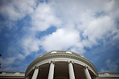 Washington, DC - September 29, 2009 -- The sky is seen above the Truman Balcony of the White House, September 29 2009. .Mandatory Credit: Chuck Kennedy - White House via CNP