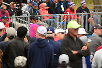 Patrick Reed (USA) watches his tee shot on 17 during round 4 of the 2019 US Open, Pebble Beach Golf Links, Monterrey, California, USA. 6/16/2019.<br /> Picture: Golffile | Ken Murray<br /> <br /> All photo usage must carry mandatory copyright credit (© Golffile | Ken Murray)