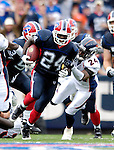 9 September 2007: Buffalo Bills cornerback Terrence McGee (24) in action against the Denver Broncos at Ralph Wilson Stadium in Buffalo, NY. The Broncos defeated the Bills 15-14 in the opening day matchup...Mandatory Photo Credit: Ed Wolfstein Photo