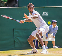London, England, 6 th July, 2017, Tennis,  Wimbledon, Gael Monfils (FRA)<br /> Photo: Henk Koster/tennisimages.com