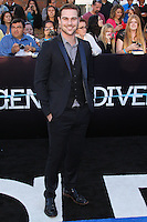 "WESTWOOD, LOS ANGELES, CA, USA - MARCH 18: Grey Damon at the World Premiere Of Summit Entertainment's ""Divergent"" held at the Regency Bruin Theatre on March 18, 2014 in Westwood, Los Angeles, California, United States. (Photo by Xavier Collin/Celebrity Monitor)"