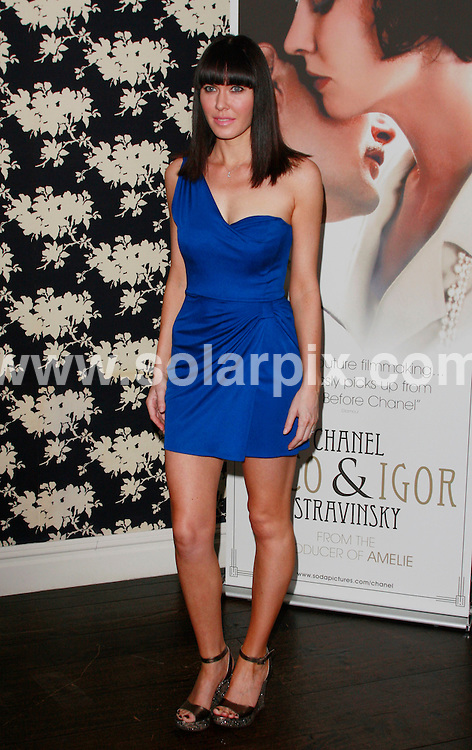 **ALL ROUND PICTURES FROM SOLARPIX.COM**.**WORLDWIDE SYNDICATION RIGHTS**.arrivals for the UK Premiere of Coco Chanel & Igor Stravinsky, in London, UK. 25 July 2010..This pic: Linzi Stoppard..JOB REF: 11753 LNJ     DATE: 25_07_2010.**MUST CREDIT SOLARPIX.COM OR DOUBLE FEE WILL BE CHARGED**.**MUST NOTIFY SOLARPIX OF ONLINE USAGE**.**CALL US ON: +34 952 811 768 or LOW RATE FROM UK 0844 617 7637**