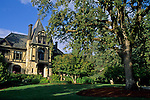 Victorian Mansion at Beringer (c1883) St. Helena, Napa Valley, Napa County, California