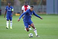 Faustino Anjorin of Chelsea in action during Chelsea Under-19 vs AFC Ajax Under-19, UEFA Youth League Football at the Cobham Training Ground on 5th November 2019