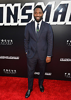 John David Washington at the Los Angeles premiere of &quot;BlacKkKlansman&quot; at the Academy's Samuel Goldwyn Theatre, Beverly Hills, USA 08 Aug. 2018<br /> Picture: Paul Smith/Featureflash/SilverHub 0208 004 5359 sales@silverhubmedia.com