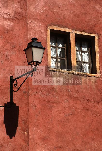 Europe/France/Rhône-Alpes/69/Rhone/Lyon: Vieux Lyon, rue de la Bombarde, maison des avocats