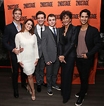 Ward Horton, Roxanna Hope Radja, Michael Urie, Jack DiFalco, Mercedes Ruehl and Michael Rosen attends the Off-Broadway Opening Night After Party for the Second Stage Production on 'Torch Song' on October 19, 2017 at Copacabana in New York City.
