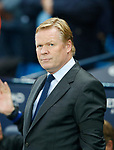 Ronald Koeman manager of Everton during the Premier League match at the Eithad Stadium, Manchester. Picture date 21st August 2017. Picture credit should read: Simon Bellis/Sportimage
