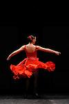 CARMEN<br /> <br /> D'apr&egrave;s Carmen, la nouvelle de Prosper M&eacute;rim&eacute;e (1845)<br /> Dramaturgie et mise en sc&egrave;ne : Antonio Gades et Carlos Saura<br /> Chor&eacute;graphie et lumi&egrave;res : Antonio Gades<br /> Interpr&egrave;tes :<br /> Maria Jose&eacute; Lopez : Carmen<br /> Angel Gil : Don Jos&eacute;<br /> Jairo Rodriguez : Le Tor&eacute;ador<br /> Miguel Angel Rojas : Le Mari<br /> Date : 26/12/2012<br /> Lieu : Palais des congr&egrave;s<br /> Ville : Paris<br /> &copy; Laurent Paillier / photosdedanse.com<br /> All rights reserved