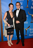 LOS ANGELES, CA. February 17, 2019: Chris Hayes & Kate A. Shaw at the 2019 Writers Guild Awards at the Beverly Hilton Hotel.<br /> Picture: Paul Smith/Featureflash