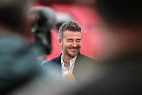 David Beckham during the Vanarama National League Playoff Final between AFC Fylde & Salford City at Wembley Stadium, London, England on 11 May 2019. Photo by James  Gil.
