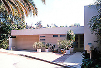 Gregory Ain: Ernest House, 5670 Holly Oak Drive. 1937.  Photo '91.