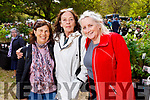 Griselda Williams, Diana Williams, Emer O'Regan, pictured at Glin Castle Fair, Limerick, pictured at Glin Castle Rare and Special Plant Fair, in Limerick, on Sunday last