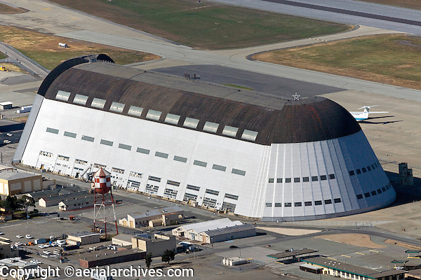 Hangar One Moffett Field Mountain View California