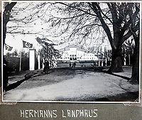 BNPS.co.uk (01202 558833)<br /> Pic: Jones&Jacob/BNPS<br /> <br /> Entance to Hermann Goering's residence in                                                                                                                                                                                                              Berchtesgaden after its redevelopment in 1941.<br /> <br /> Springtime for Hitler...Chilling album of pictures taken by one of Hitlers bodyguards illustrates the Nazi dictators rise to power.<br /> <br /> An unseen album of photographs taken by a member of Hitlers own elite SS bodyguard division in the years leading up to the start of WW2.<br /> <br /> The 1st SS Panzer Division 'Leibstandarte SS Adolf Hitler' or LSSAH began as Adolf Hitler's personal bodyguard in the 1920's responsible for guarding the Führer's 'person, offices, and residences'.