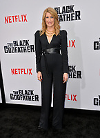"LOS ANGELES, USA. June 04, 2019: Laura Dern at the premiere for ""The Black Godfather"" at Paramount Theatre.<br /> Picture: Paul Smith/Featureflash"