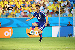 Maya Yoshida (JPN), <br /> JUNE 24, 2014 - Football /Soccer : <br /> 2014 FIFA World Cup Brazil <br /> Group Match -Group C- <br /> between Japan 1-4 Colombia <br /> at Arena Pantanal, Cuiaba, Brazil. <br /> (Photo by YUTAKA/AFLO SPORT)