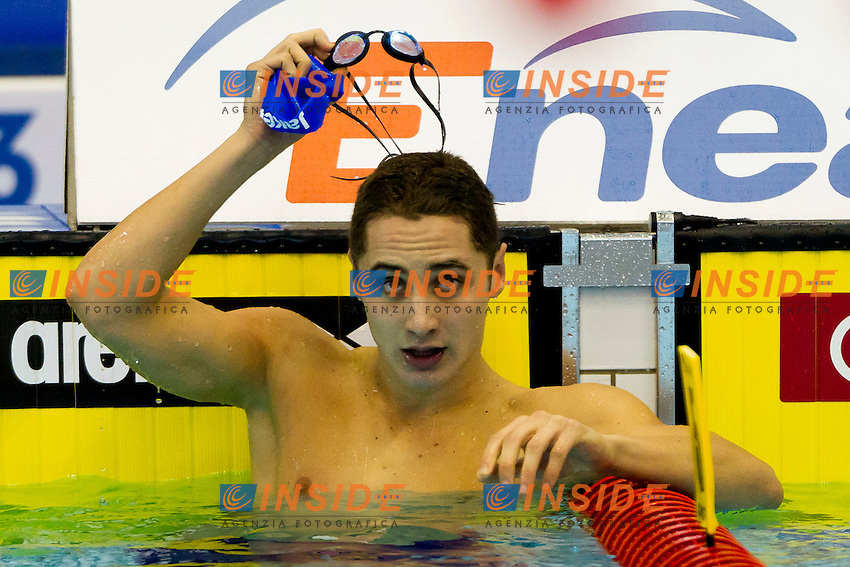 Szczecin, Poland, 8 december 2011.European Short Course Swimming Champioships 2011.100m Farfalla uomini.Francesco Pavone (ITA).Photo: Guido Cantini/Sea&See