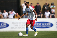 Luke Croll of Dagenham and Redbridge during Dagenham & Redbridge vs Hartlepool United, Vanarama National League Football at the Chigwell Construction Stadium on 14th September 2019