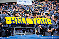 PHILADELPHIA, PA. - DEC 12 2015: Army fans are hype for the Army Navy game at Lincoln Financial Field Philadelphia, PA. (Photo by Phil Peters/Media Images International)