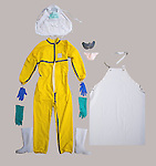 Ebola worker protective suit