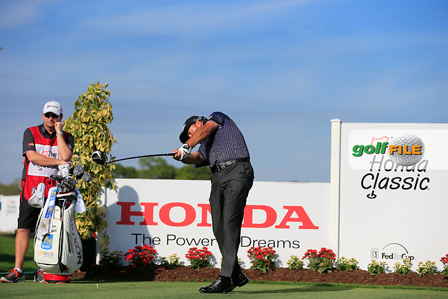 Graeme McDowell (NIR) during the practice day at the Honda Classic from PGA National, Palm Beach Gardens, Florida.<br /> Picture: Fran Caffrey / Golffile