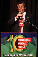 SÃO PAULO, SP - 29.05.2015 - DILMA-SP - Governador do Estado do Maranhão , Flavio Dino, na abertura da 10ª Conferência Nacional<br /> do PCdoB, no bairro da Vila Mariana, zona Sul de São Paulo, nesta sexta-feira (29). (Foto: Douglas Pingituro/Brazil Photo Press)