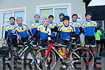 At the Annual Le tour de Ballyfinnane on Saturday were Tralee Cycle Club l-r James McGrath, George Doyle, Martin Deedy, Matt Lacey, Johnny O'Sullivan, Paudie O'Sullivan, Michael Mannix, David Kelly, Ross Culloty,