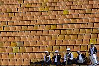 SÃO PAULO, SP, 10 DE JUNHO DE 2012 - FINAL DA COPA DO BRASIL DE FUTEBOL FEMININO: Banda durante partida São José E.C. x Centro Olimpico, válida pela Final da Copa do Brasil de Futebol Feminino em jogo realizado na manhã deste <br /> <br /> domingo (10) no Estádio do Pacaembú. FOTO: LEVI BIANCO - BRAZIL PHOTO PRESS
