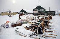 Dog Food & Supplies @ McGrath Chkpt '90 Iditarod