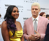 NEW YORK, NY - MAY 15: Brandi Rhodes and Cody Rhodes attends the 2019 WarnerMedia Upfront presentation at Madison Square Garden   on May 15, 2019 in New York City.        <br /> CAP/MPI/JP<br /> ©JP/MPI/Capital Pictures