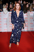 Arielle Free at the National Television Awards 2018 at the O2 Arena, Greenwich, London, UK. <br /> 23 January  2018<br /> Picture: Steve Vas/Featureflash/SilverHub 0208 004 5359 sales@silverhubmedia.com