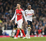 Tottenham's Danny Rose celebrates at the final whistle<br /> <br /> Barclays Premier League- Tottenham Hotspurs vs Arsenal  - White Hart Lane - England - 7th February 2015 - Picture David Klein/Sportimage