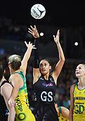 5th October 2017, Spark Arena, Auckland, New Zealand; Constellation Cup, New Zealand Silver Ferns versus Australia Diamonds;   New Zealand's Maria Tutaia