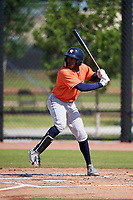 Houston Astros Ronnie Dawson (2) during a Minor League Spring Training Intrasquad game on March 28, 2018 at FITTEAM Ballpark of the Palm Beaches in West Palm Beach, Florida.  (Mike Janes/Four Seam Images)