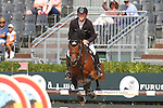 25.09.2015 Barcelon CSIO Barcelona . Picture show Marcus Ehning (GER) ridding Cmme II Faut during EL Peridodico Trophy at Real Club de Polo de Barcelona