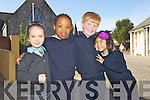 Junior infants at Saint John's Parochial School, Ashe Street, Tralee were Shauna Young, Bethany O'Dias, Billy Giles and Lucy Hong Giles.