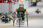 May 28, 2012: David Huggins competes in the 2012 U.S. Handcycling Criterium National Championships, Greenville, SC.
