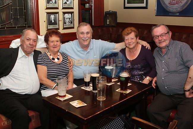 Raymond Reilly, Marie Faulkner, Noel Thornberry, Oliver Lynn and Sean Faulkner in O'Caseys...(Photo Jenny Matthews/www.newsfile.ie)